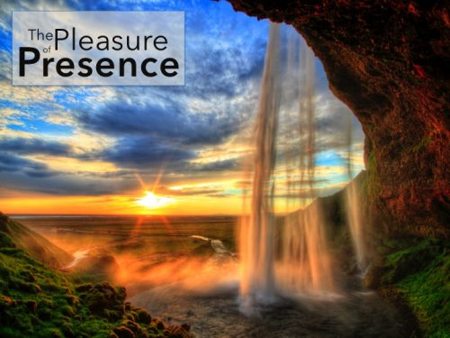 THE PLEASURE OF PRESENCE: One Thing I Ask